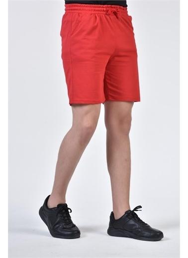 Rodi Jeans Erkek Renkli Basic Şort TY21YE140150 Kırmızı